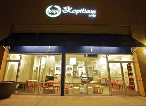 Kopitiam Cafe - outside view